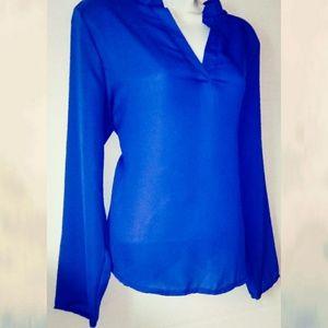 🎀 Beautiful Blue Blouse